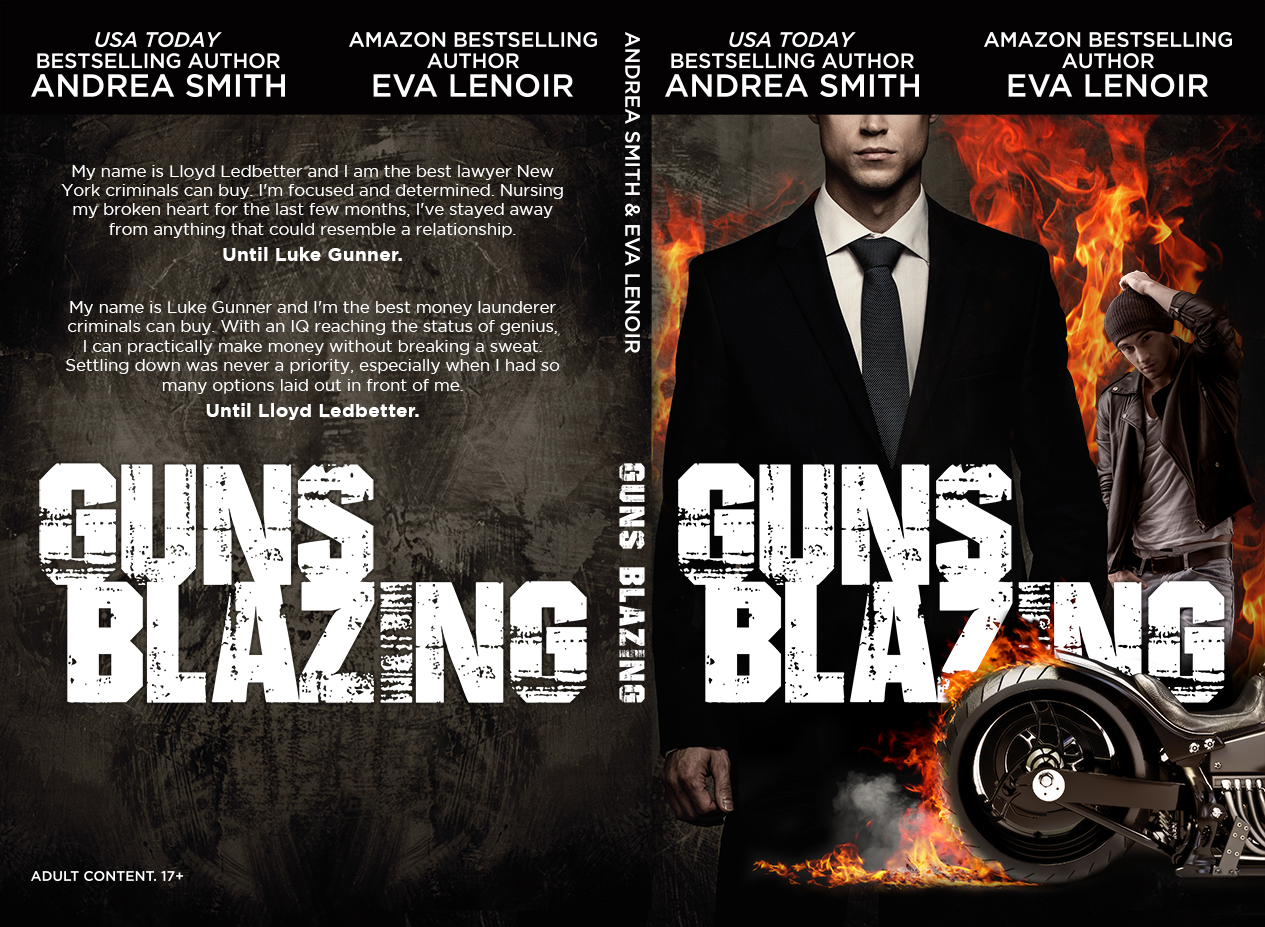 Cover Reveal – Guns Blazing