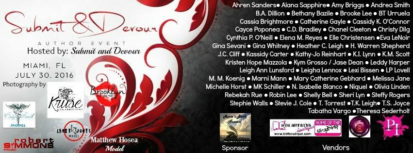 Submit & Devour Author Event