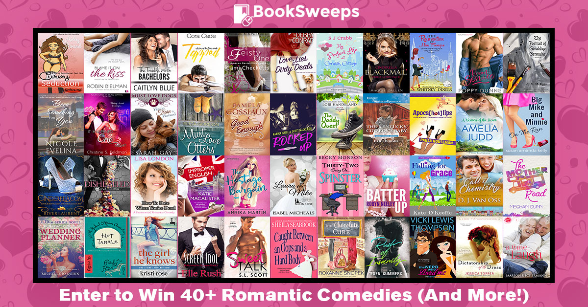 Celebrate your love of Romantic Comedy novels!